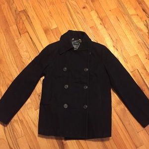 J. Crew wool pea coat